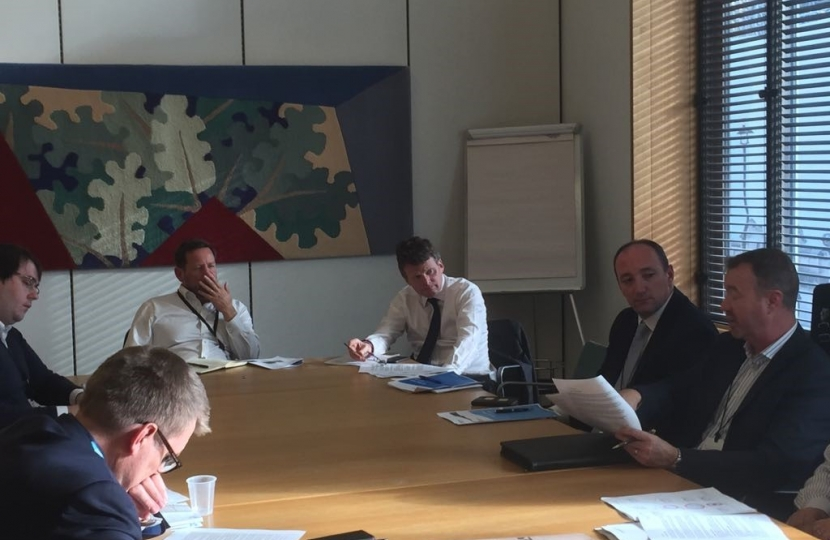 A34 Meeting with Richard Benyon