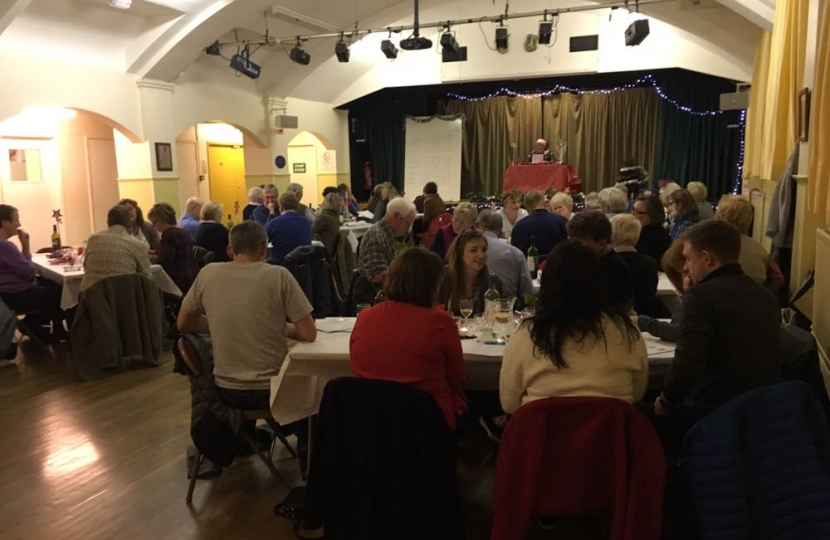 Kintbury Christmas Quiz - the hall